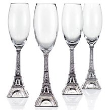 eiffel-tower-flutes-set-of-4-063670631