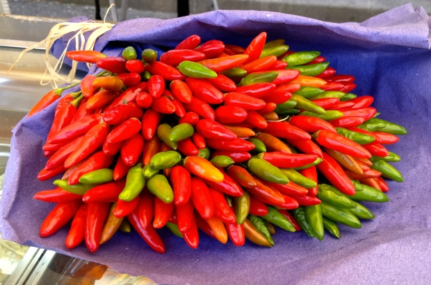 Un bouquet de piments, Provence