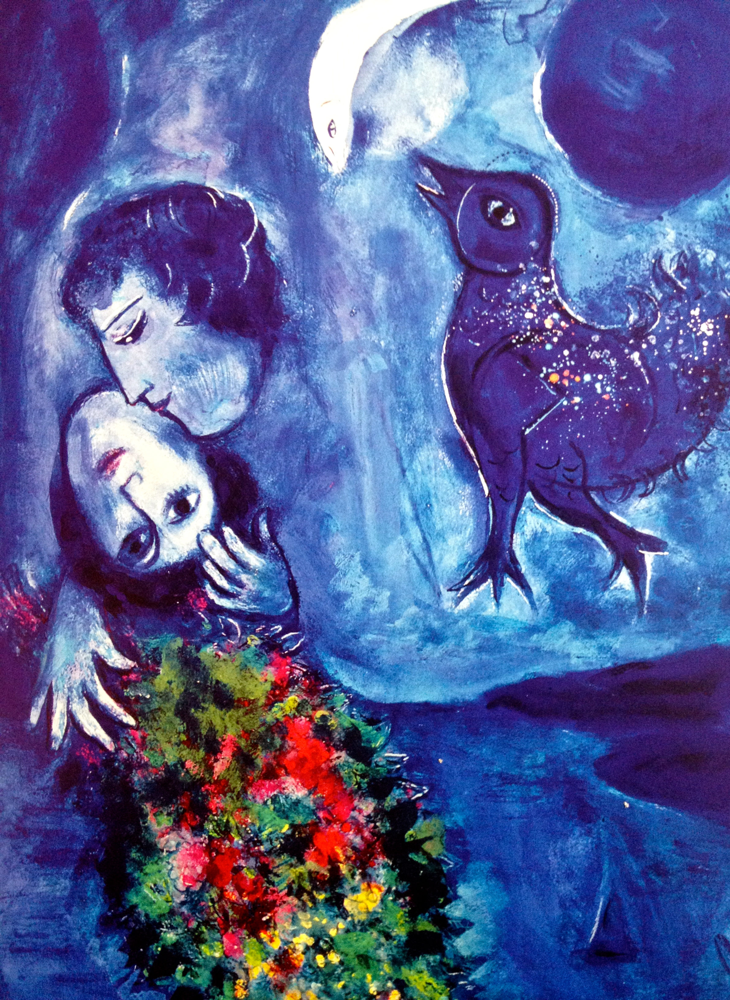 Chagall 365 things i love about france for Paysage