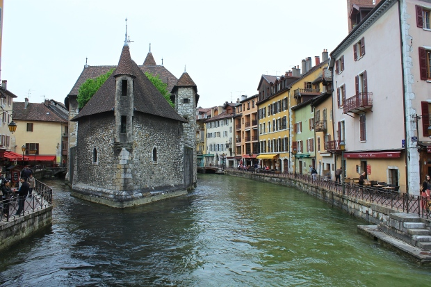 12th-century Palais de l'Isle, Annecy