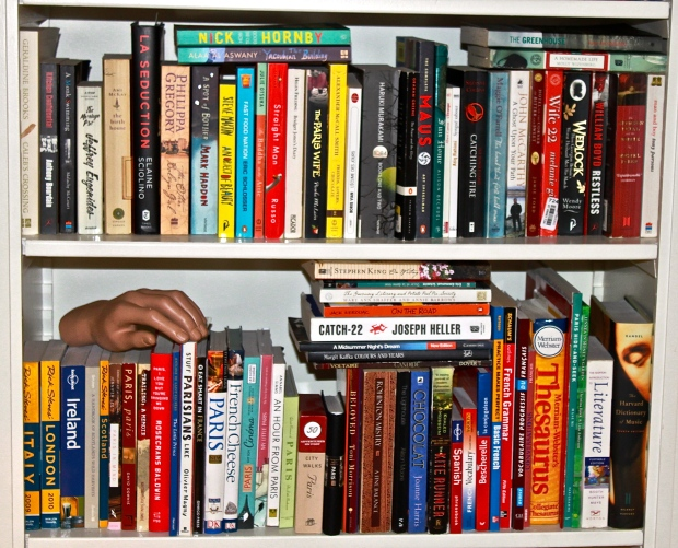 bookshelf flash
