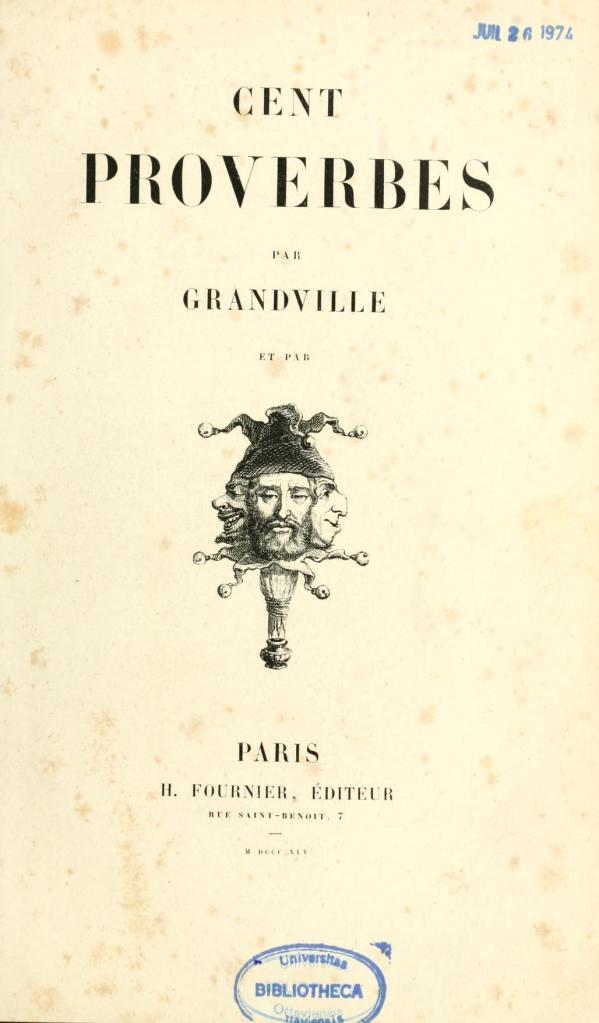 Grandville-Cent-Proverbs-1