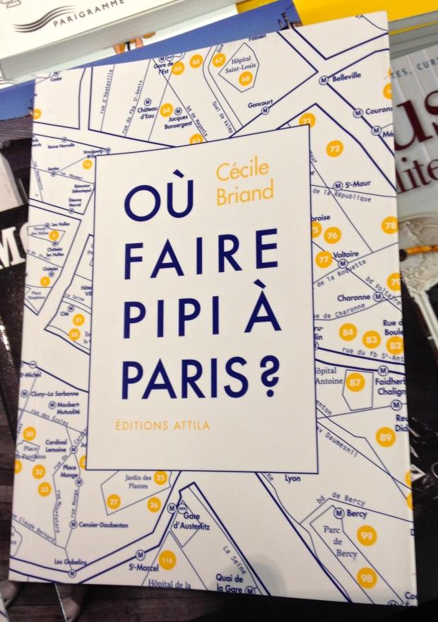 Ou faire pipi a Paris