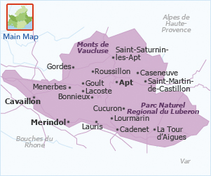 Apt France Map.Waiting For Godot 365 Things I Love About France