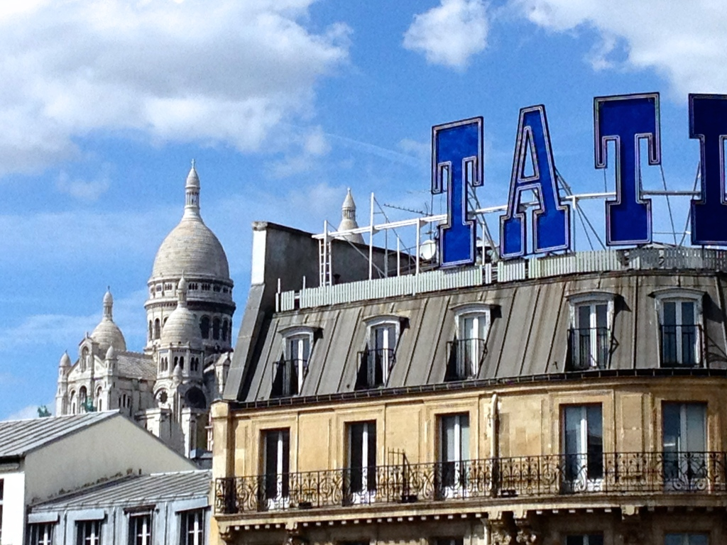 Tatty Paris rooftop