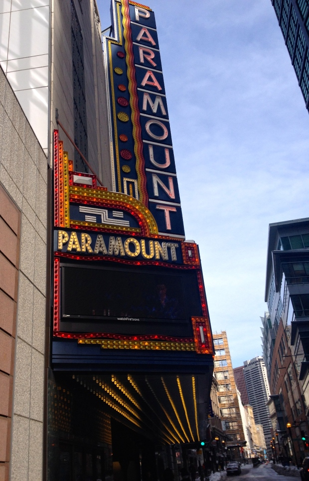 The new Paramount Theatre at Emerson University, Boston