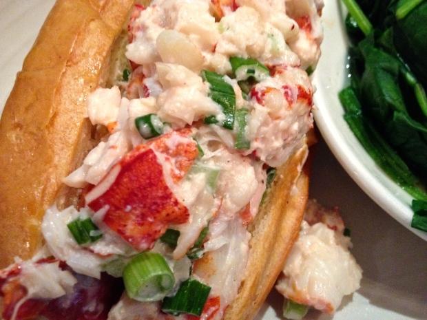 Lovely lobster roll