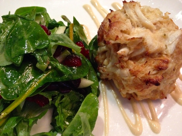 The crab cakes in Boston are amazing...