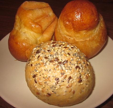 petite brioche et petit pain