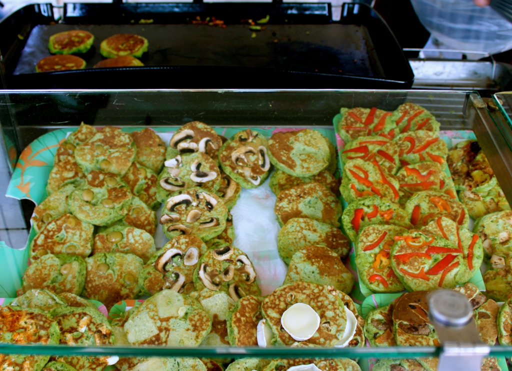 Farcou (herb pancakes) 3/5€ or 7/10€