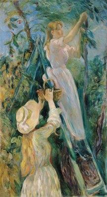 2-Berthe-Morisot-Le-cerisier-1891-musee-Marmottan-Monet-Bridgeman-Giraudon-Presse-blog-hotel-elysees-mermoz-paris