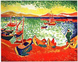 Derain_Boats_at_Collioure_Harbor_1905