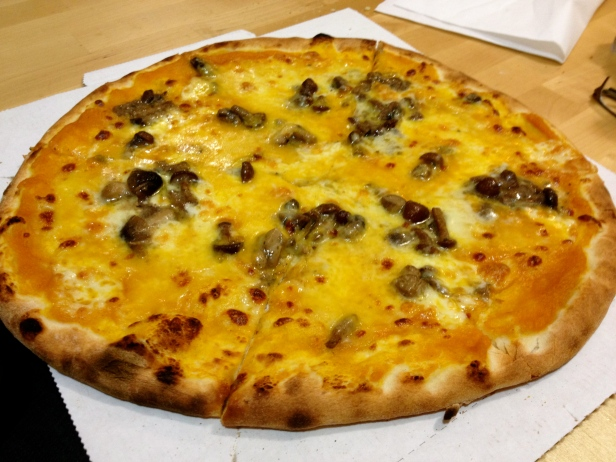 The real deal…artisanal pizza...